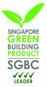 Green building product logo